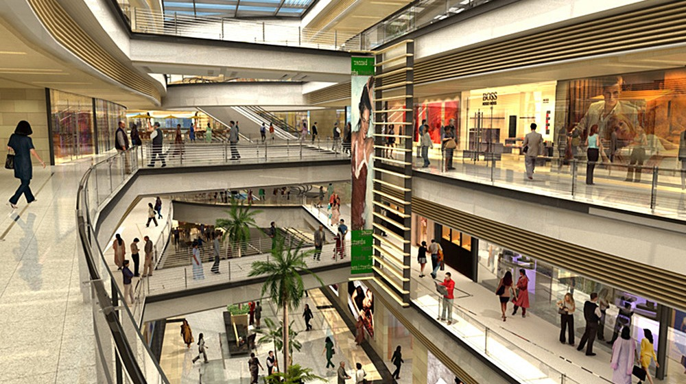 08 Shopping Mall Multi-Level Masterplan